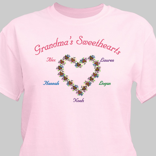 My Sweethearts Personalized T-Shirt