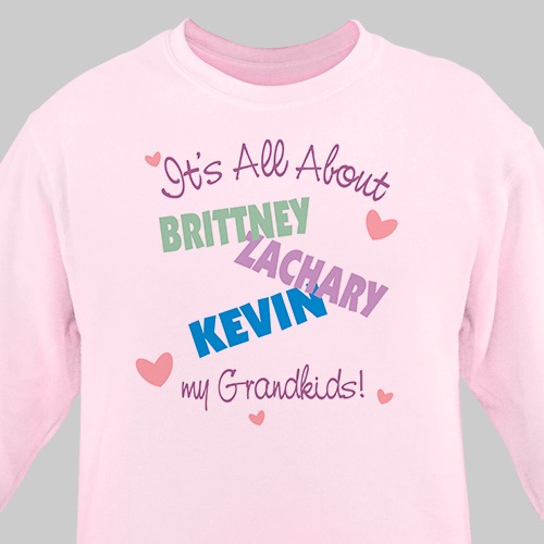It's All About Personalized Sweatshirt