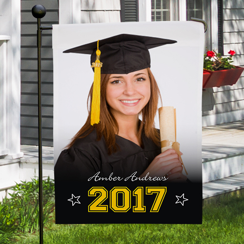 Graduation Photo Garden Flag | Graduation Gifts