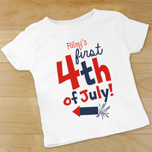 First Fourth of July Infant Creeper 939520X