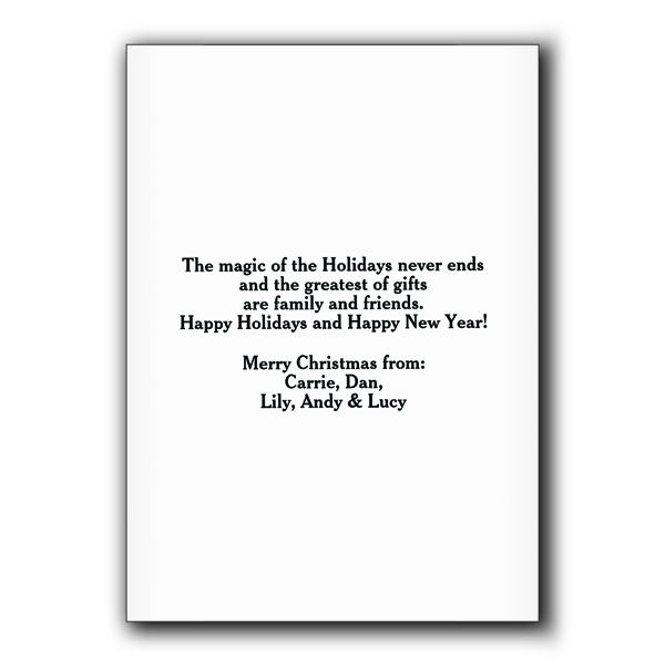 Holiday Shimmer Photo Christmas Cards 1973010