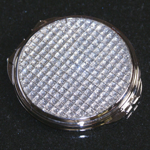 Glitter Galore Personalized Compact