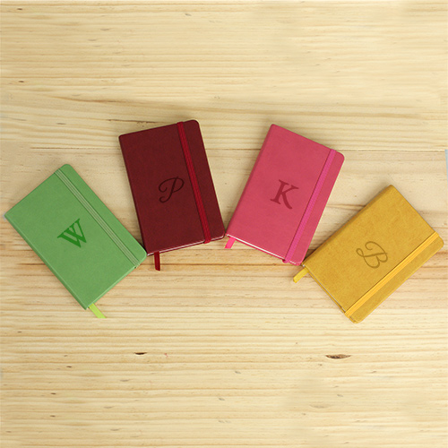 Personalized Initial Leatherette Journal L10042143X