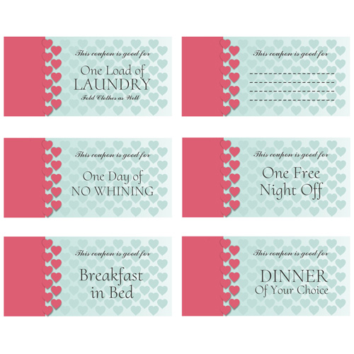 Personalized Mother's Day Coupon Book | Personalized Gifts for Moms