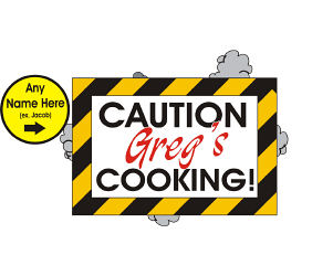 Caution Apron - Novelty Apron