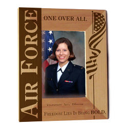 U.S. Air Force Wood Picture Frame