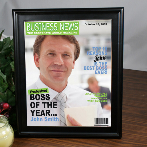 Boss of the Year Magazine Cover 930475