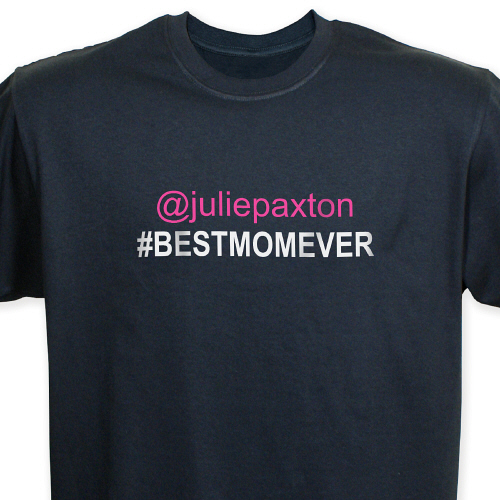 Personalized Best Mom T-Shirt 37581X