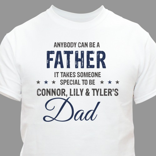 Personalized Dad T-Shirt | Father's Day Shirts