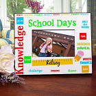 School Days Printed School Frame