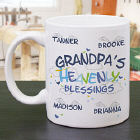 Grandpa Coffee Mug - Heavenly Blessings Design