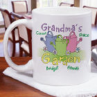 Personalized Garden Coffee Mug