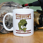 Bass Club Fishing Personalized Coffee Mug