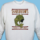 Bass Club Fishing Personalized Sweatshirt