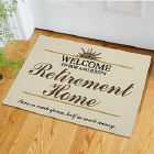 Retirement Home Personalized Doormat