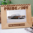 Pride and Joy Wood Picture Frame