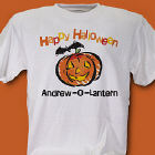 Jack-O-Lantern Halloween Personalized T-shirt