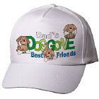 Doggone Friends Personalized Hat