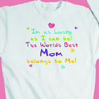 I'm Lucky (hearts) Youth Sweatshirt