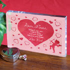 Cupid's Message Valentine Keepsake