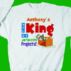 King of Unfinished Projects Sweatshirt