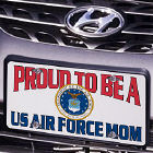 Proud To Be A....Personalized Military License Plate