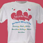 Our Hearts Personalized T-Shirt