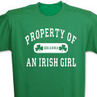 Property of an Irish T-shirt