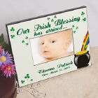 Our Irish Blessing Personalized Picture Frame