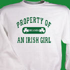 Property of an Irish Sweatshirt