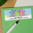 Garden Address Labels