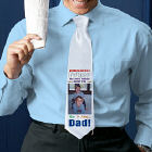 Anybody Can Be...Dad Personalized Photo Neck Tie