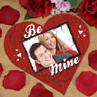 Be Mine Photo Heart Jig Saw Puzzle