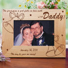 …Is her Daddy Wood Picture Frame