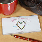 My Sweethearts Personalized Checkbook Cover
