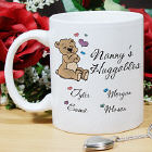 Personalized Grandma Ceramic Coffee Mug