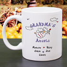 Floating on A Cloud Personalized Angels Coffee Mug