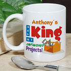 King of Unfinished Projects Coffee Mug