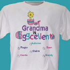 Eggcellent Personalized Easter T-Shirt