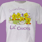 Lil' Chicks Personalized Easter T-Shirt