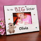 Personalized Big Sister Printed Frame