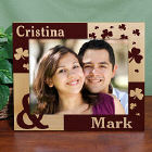 Personalized Just the Two of Us Irish Wood Picture Frame