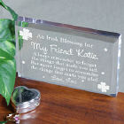 Made You Glad Irish Blessing Keepsake