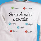 My Jewels - Personalized Birthstone Sweatshirt