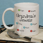 Personalized My Jewels - Birthstone Mothers Day Mug