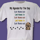 Agenda For The Day Personalized Pet T-Shirt