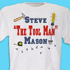 Personalized Tool Man T-Shirt