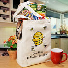 Un-Bee-Lievable  Personalized Canvas Tote Bag