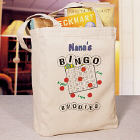 Bingo Buddies Personalized Canvas Tote Bag
