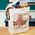 Cookies of Life Personalized Canvas Tote Bag